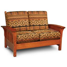 Grand Rapids Loveseat, Fabric Cushion Seat