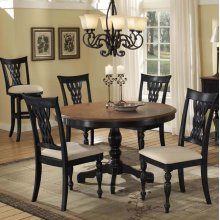Embassy 5pc Round Dining Set