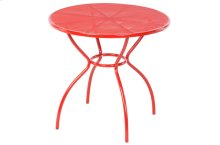 Martini Iron Mesh Bistro Table - Cherry Pie