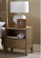 Nightstand - Jute Finish Product Image