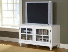 "Grand Bay 48"" Entertainment Console White"