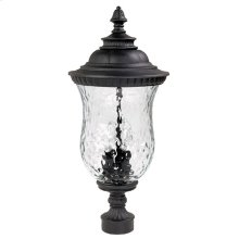 3 Lamp Outdoor Post Lantern