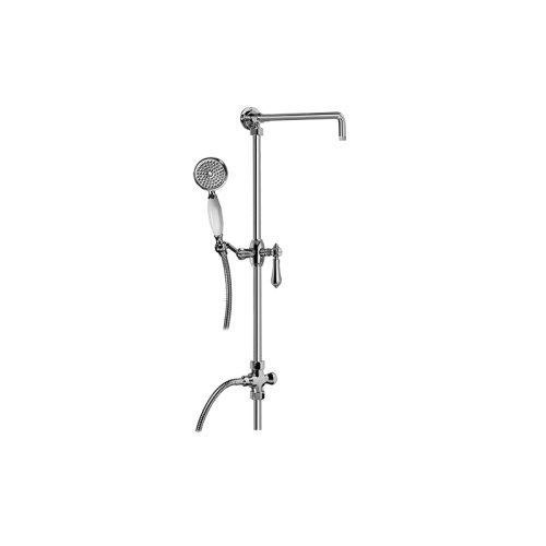 Exposed Riser with Handshower