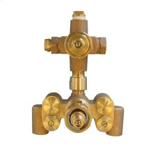 SMA Thermostatic Mixing Valve with Single Volume Control - 1.75 GPM - No Color