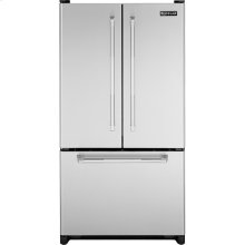 "Cabinet Depth French Door Refrigerator with Internal Dispenser, 69""(h), Pro-Style® Stainless Handle"