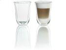 2 Latte Macchiato Glasses for use with Espresso Machines Product Image