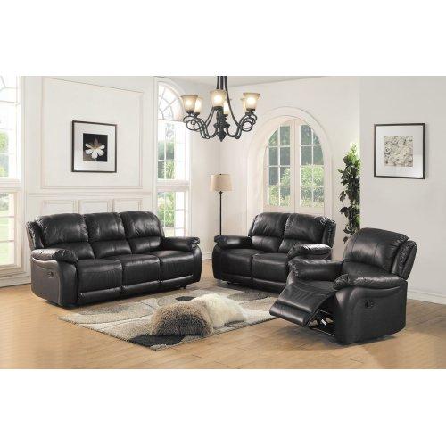 8028 Black Sofa