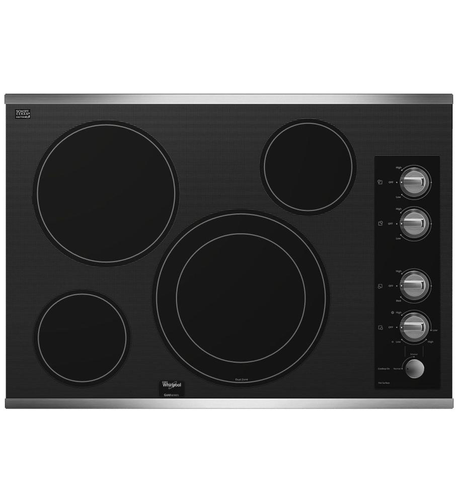 30 Inch Glass Cooktop ~ Whirlpool canada model g ce xs caplan s