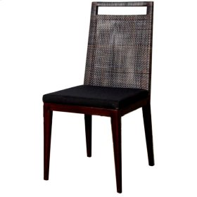 Cushion Wilshire Side Chair, Black