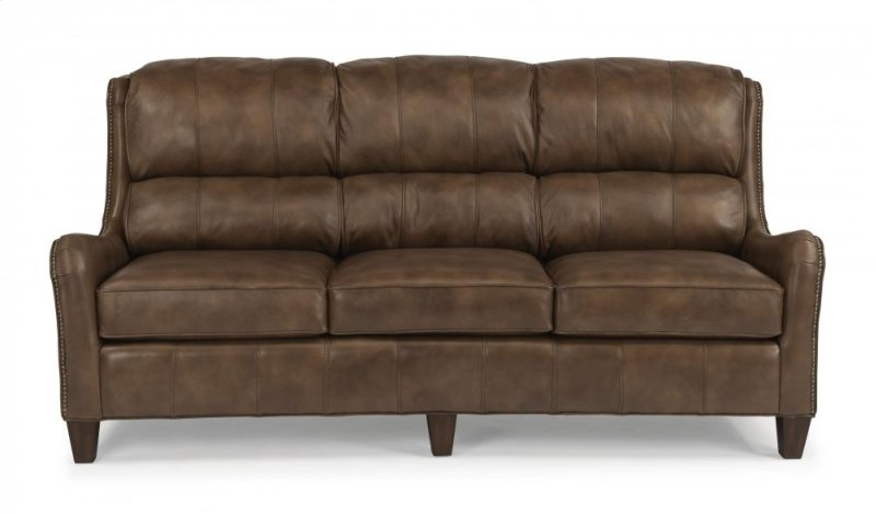 Hidden Additional Lukas Leather Or Fabric Sofa