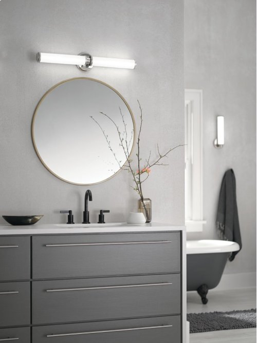 Indeco Collection Indeco Wall Sconce 1 Light LED NBR