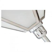 Layne Floor Lamp/Metal+Glass/Nickle/16.4*16.4*71