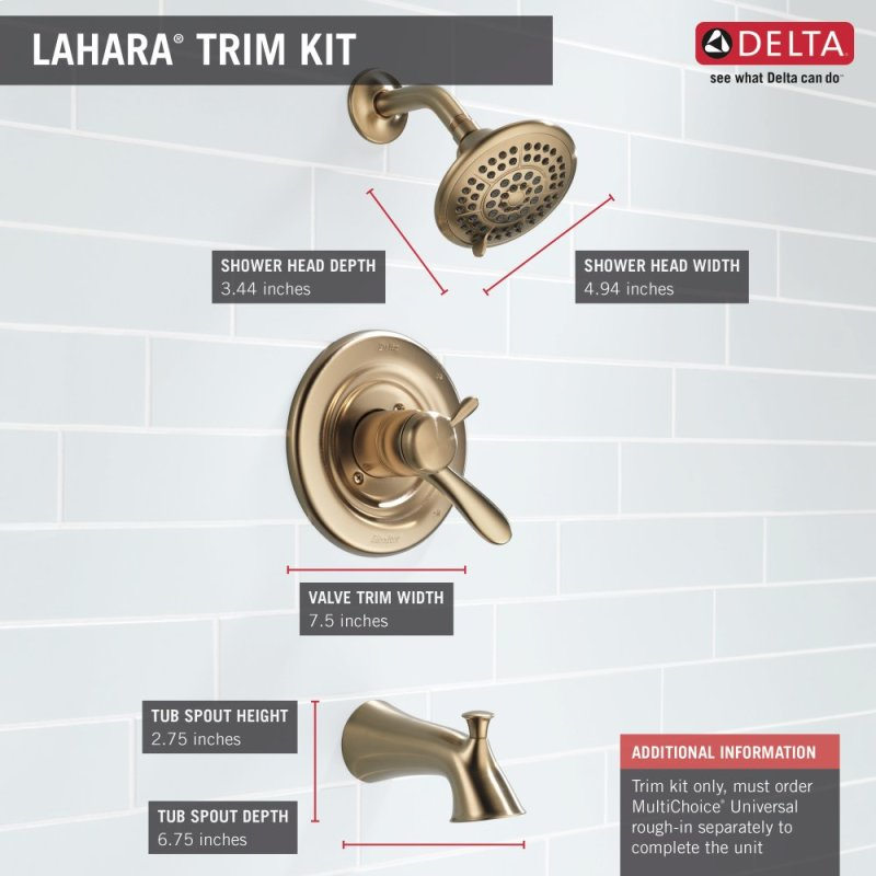 T17438CZ in Champagne Bronze by Delta Faucet Company in Atlanta, GA ...