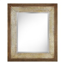 Ridwana Framed Rectangular Wall Mirror