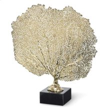 Metal Sea Fan (brass)