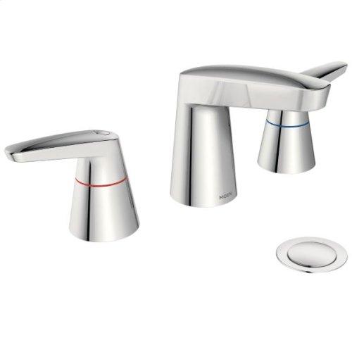 M-DURA chrome two-handle lavatory faucet