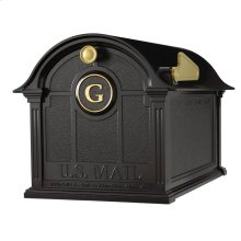 Balmoral Mailbox Monogram Package - Black