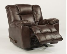 La Crosse Fabric Gliding Recliner
