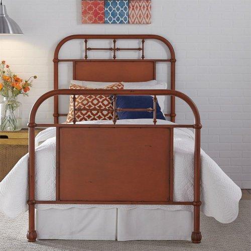 Full Metal Bed - Orange