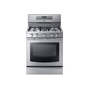 SAMSUNG5.8 cu. ft. Gas Range with True Convection