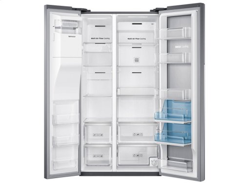 29 cu. ft. Side-by-Side Food ShowCase Refrigerator with Metal Cooling