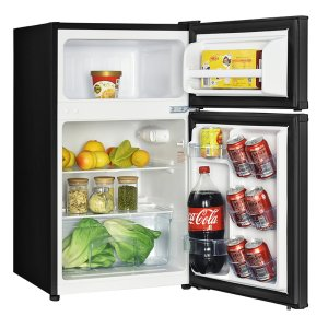 Avanti3.1 CF Two Door Counterhigh Refrigerator - Black