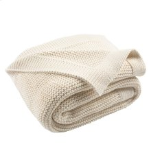 SNUG KNIT THROW - Natural