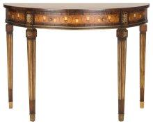 Bucknell Mahogany Console Table - Honey