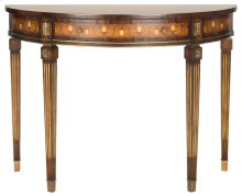 Bucknell Mahogany Console Table - Honey