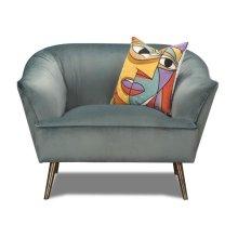 Marine Blue Chair