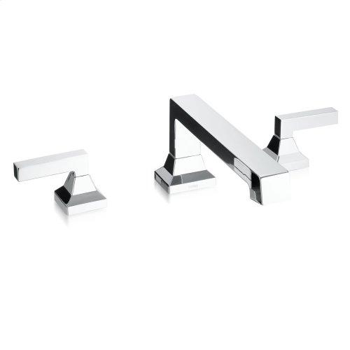 Lloyd® Deck-Mount Bath Faucet - Brushed Nickel
