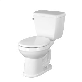 """Biscuit Avalanche® 1.28 Gpf 12"""" Rough-in Two-piece Round Front Toilet"""
