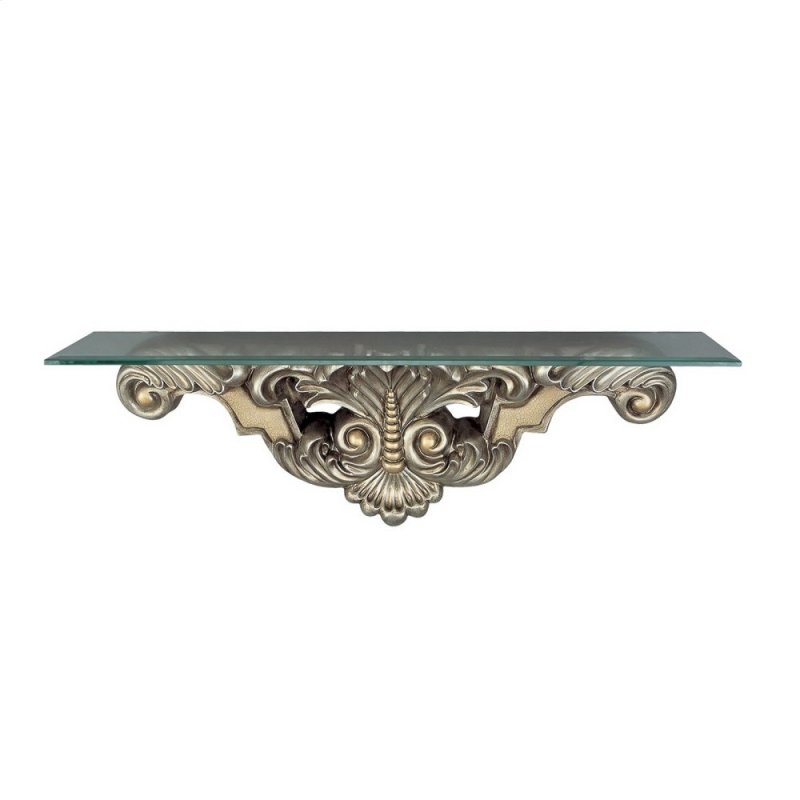 Leaf Bead Console Table Wall
