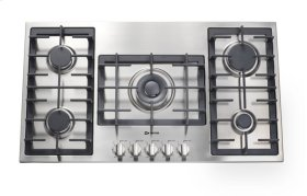 "Stainless Steel 36"" Gas 5 - Burner Designer Series"