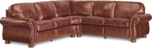 Benjamin Motion Sectional (Two-Piece) (Leather)