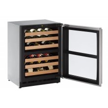 """Out of Box Display Model 24"""" Wine Captain ® Model Stainless Frame Right-Hand Hinge"""