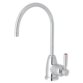 Polished Chrome Perrin & Rowe Holborn C-Spout Hot Water Faucet