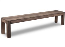 """Contempo 72"""" Leg Bench with Wood Seat"""