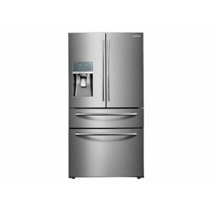 Samsung Appliances28 cu. ft. Food Showcase 4-Door French Door Refrigerator in Stainless Steel