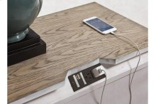 Nightstand with Powerstrip