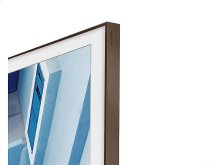 "55"" The Frame Customizable Bezel - Walnut/Dark Wood"