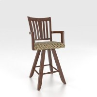 """Swivel Barstool 24"""" with arms Product Image"""