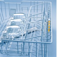 Glassware insert for upper basket GGO