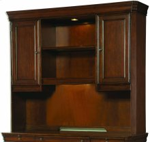 Cherry Creek Computer Credenza Hutch