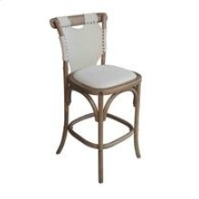 Split Shoulder Counter Stool