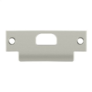 "ANSI T- Strike, 4 7/8"" x 1 1/4"", w/ Hole - Brushed Nickel"