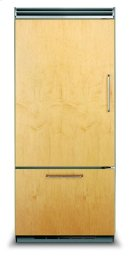 "36"" Custom Panel Bottom-Freezer Refrigerator, Left Hinge/Right Handle Product Image"