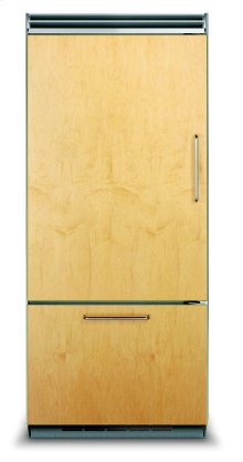 "36"" Custom Panel Bottom-Freezer Refrigerator, Left Hinge/Right Handle"
