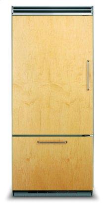 "36"" Custom Panel Bottom-Freezer Refrigerator, Left Hinge/Right Handle"