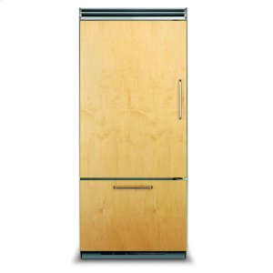 "Viking36"" Custom Panel Bottom-Freezer Refrigerator, Left Hinge/Right Handle"